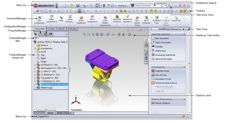 solidworks_user_interface