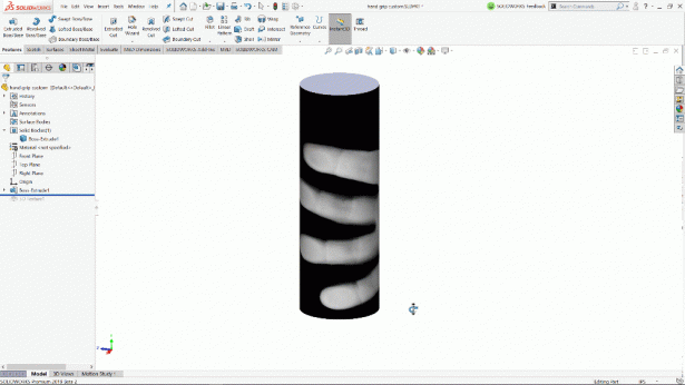 3D Texture SOLIDWORKS 2019